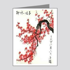 Cherry Blossoms Note Cards (Pk of 20)