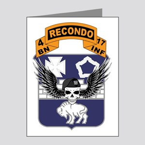 17th Recondo Skull Note Cards (Pk of 20)