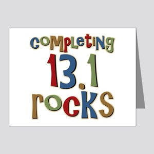 Completing 13.1 Rocks Marathon Note Cards (Pk of 2