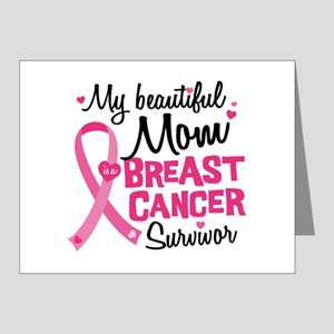 Mom Breast Cancer Note Cards (Pk of 20)