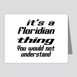 Floridian Thing You Would No Note Cards (Pk of 20)