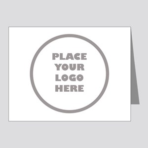 Personalized Logo Note Cards (Pk of 20)