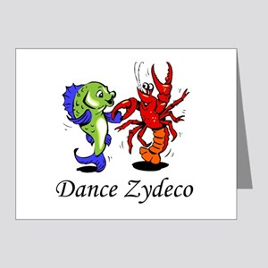 Dance Zydeco Note Cards (Pk of 20)