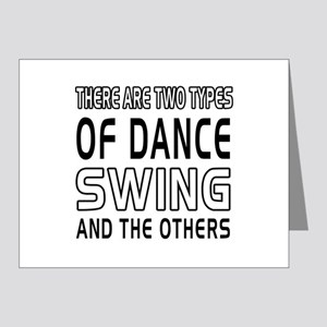 Swing Dance Designs Note Cards (Pk of 20)