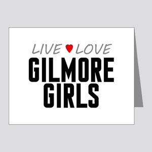 Live Love Gilmore Girls Note Cards (20 pack)
