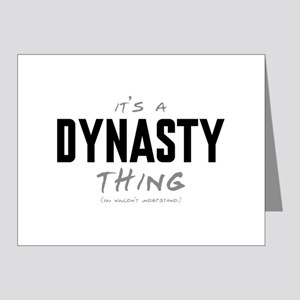 It's a Dynasty Thing Note Cards (20 pack)