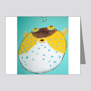 Puffer Fish Note Cards (Pk of 20)