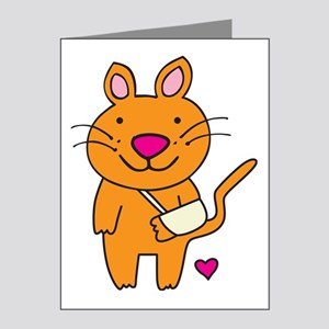Broken Kitty Note Cards (Pk of 20)