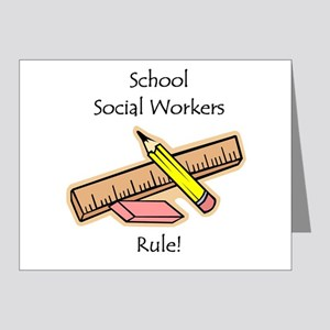 Social Workers Rule Note Cards (Pk of 20)