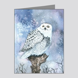 Snowy Owl Note Cards (Pk of 20)