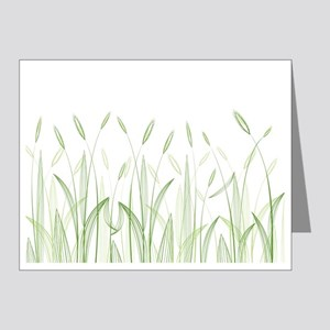 Delicate Grasses Note Cards