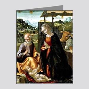 The Nativity, painting by Do Note Cards (Pk of 20)
