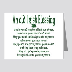 Old irish Blessing Note Cards (Pk of 20)