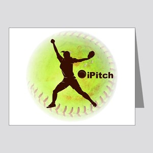iPitch Fastpitch Softball Note Cards (Pk of 20)