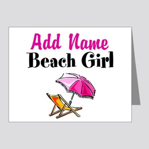 BEACH GIRL Note Cards (Pk of 20)