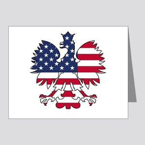 Polish American Eagle Note Cards (Pk of 20)