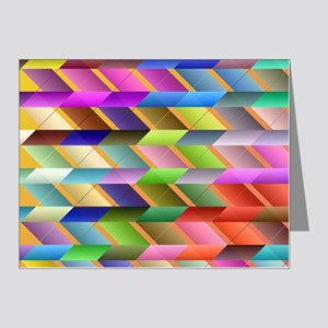 Articulated triangles Note Cards (Pk of 20)
