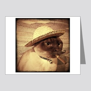 Gato w/Cigar Note Cards (Pk of 20)