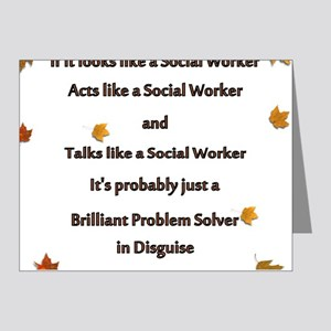 brilliant problem solver 2 Note Cards (Pk of 20)