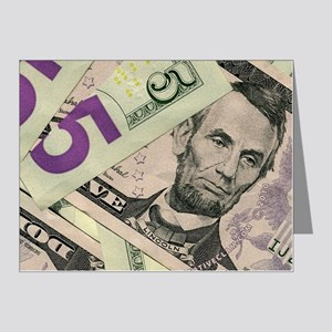 bills-five-1200 Note Cards (Pk of 20)