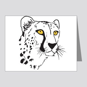 Silhouette Cheetah Note Cards (Pk of 20)
