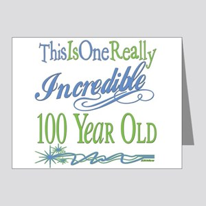Incredible 100th Note Cards (Pk of 20)