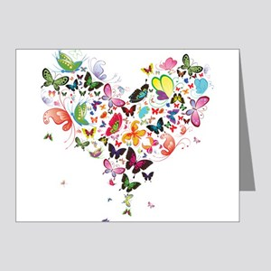 Heart of Butterflies Note Cards