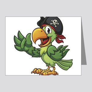 Pirate-Parrot Note Cards