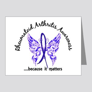 RA Butterfly 6.1 Note Cards (Pk of 20)