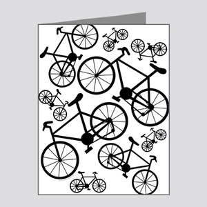 Bicycles Big and Small Note Cards (Pk of 20)