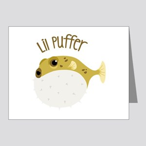 Lil Puffer Note Cards
