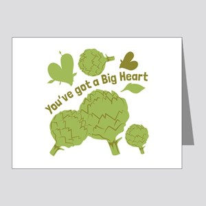 A Big Heart Note Cards