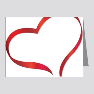 heart03 Note Cards (Pk of 20)