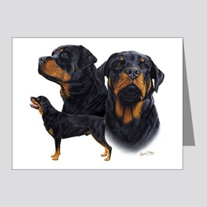 Rottweiler blanket Note Cards (Pk of 20)
