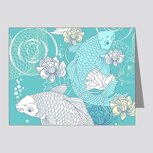 Koi Fish Note Cards