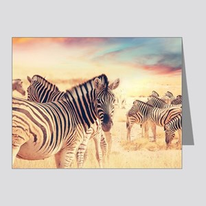 Beautiful Zebras Note Cards