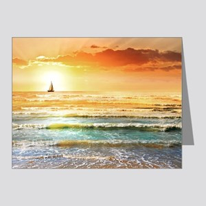 Tropical Beach Note Cards (Pk of 20)