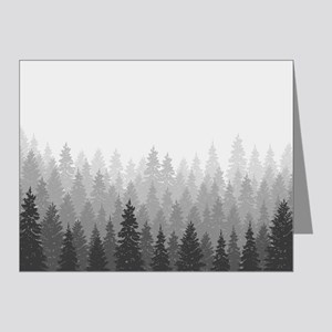 Gray Forest Note Cards
