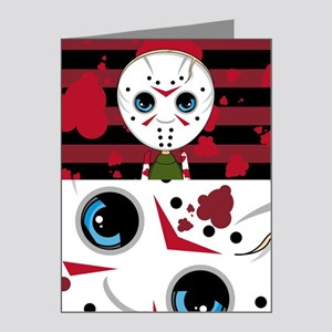 Cute Masked Killer Note Cards (Pk of 20)
