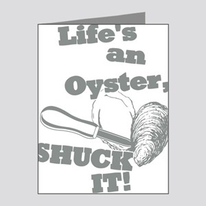Lifes an Oyster, Shuck it Note Cards (Pk of 20)