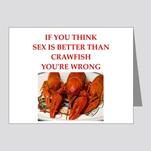 crawfish Note Cards