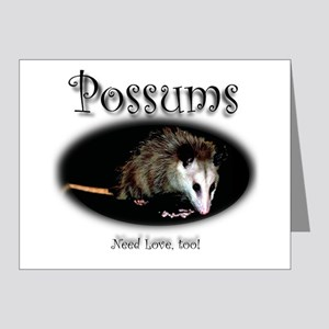 Possums Need Love Too Note Cards (Pk of 20)