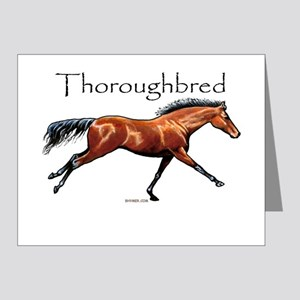 Thoroughbred Note Cards (Pk of 20)