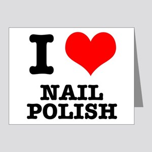 I Heart (Love) Nail Polish Note Cards (Pk of 20)
