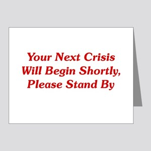 Your Next Crisis Note Cards (Pk of 20)