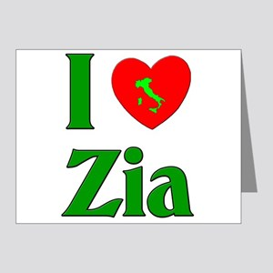 I (heart) Love Zia Note Cards (Pk of 20)