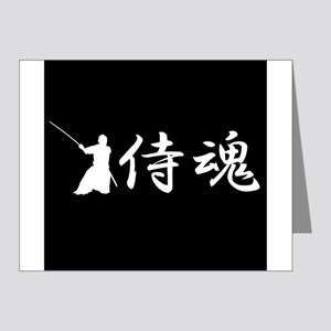 Samurai spirit Note Cards (Pk of 20)
