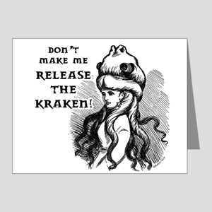 Kraken Note Cards (Pk of 20)