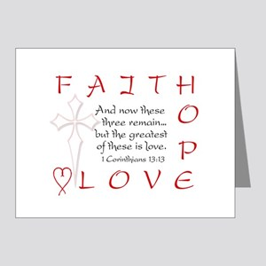 Greatest Is Love Note Cards (Pk of 10, blank) Note