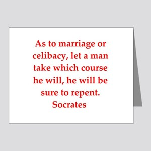 Wisdom of Socrates Note Cards (Pk of 20)